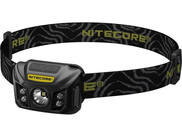 NITECORE NU32 Faro LED frontal para cabeza/casco, black